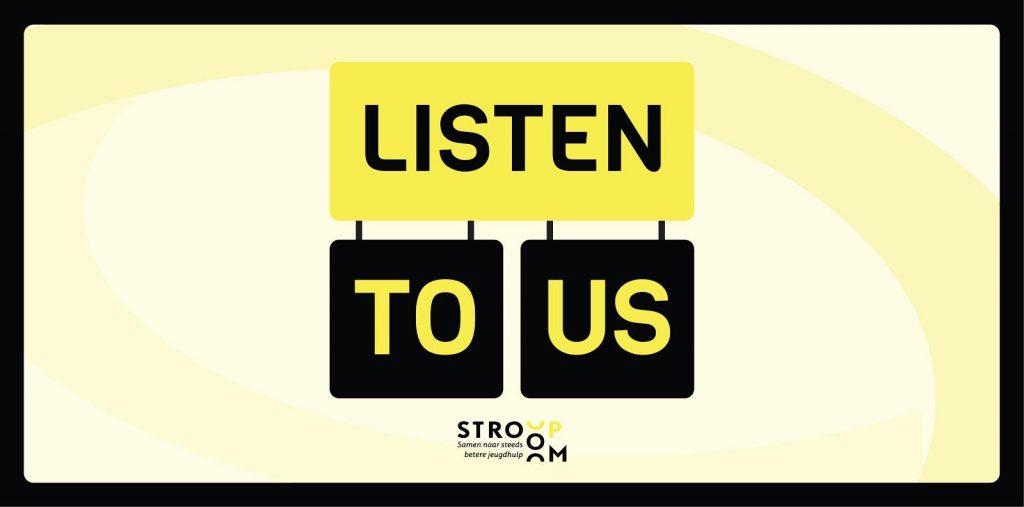 Derde podcast Listen to us! live: Gerty, Suzan en Eva over een gezinshuis